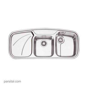سینک استیل فرانکه مدل PAX 624 R