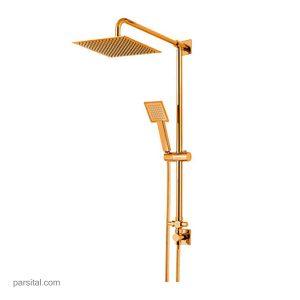 علم یونیکا کلار مدل یونیورس آبشار طلایی با سردوش مربع